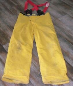 Morning Pride Bunker Firefighter Gear Pants Turnout Pants Size 36x30