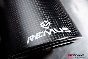 Remus Racing Cat Back Sport Exhaust Ford Mustang 2 3 Ecoboost sale Carbon S550
