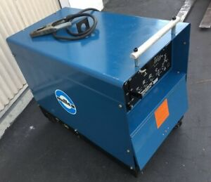 Miller Dialarc Hf Welder Constant Current Ac dc Arc Welding Power Source