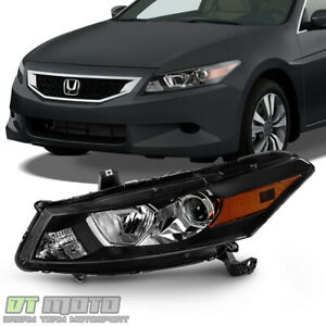 For 2008 2009 2010 Honda Accord 2 Door Coupe Headlight Headlamp Left Driver Side