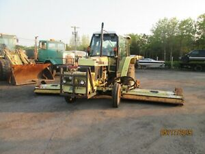 1995 Ford Tractor Model 6640 With Frail Mowers Cuts 18