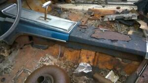 1966 Galaxie Front Console At Floor Shift Blue 546139