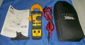 Ideal 61 763 660aac Tightsight True Rms Clamp Meter With Capacitance frequency