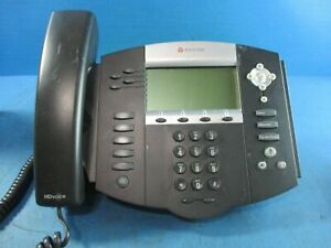 Polycom 2201 12550 001 Soundpoint Ip 550 Digital Phone With Handset Used