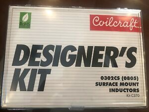 Coilcraft Designer s Kit C370 0302cs 0805 Surface Mount Inductors 0 67 34 Nh