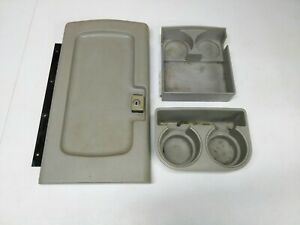 1988 1994 Chevy Suburban Center Console Lid Cupholder Insert Tahoe Yukon A5