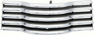 Oer Chrome Grill With Black Brackets 1947 1953 Chevrolet Pickup Truck