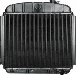 Oer 6 Cylinder Auto Trans Radiator 1955 1956 Chevrolet Bel Air 150 210 Nomad