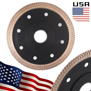 4 5 Turbo Diamond Disc Tile Cutting Angle Grinder Blade 115mm For Marble Tile