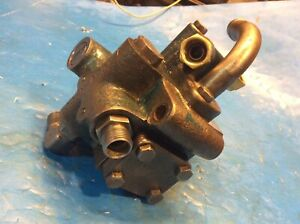 Ford 6000 Tractor Hydraulic Pump Unload Valve