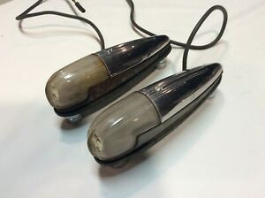 1941 Ford Deluxe Turn Signal Lights Fender Mounted Vintage pair Original Rare