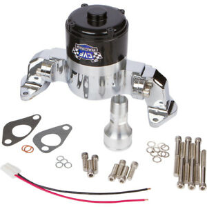 Chrome Small Block Chevy Electric Water Pump 350 Ewp Sbc High Volume Flow