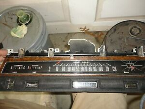 1968 Chrysler Newyorker 300 Instrument Gauge Cluster Dash Panel