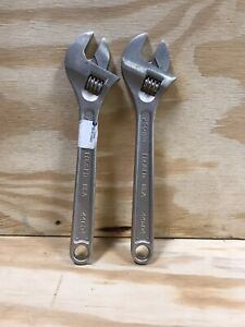 2 Craftsman 10 Adjustable Wrench Made In Usa Part 44604