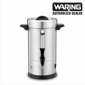 Waring Commercial Wcu30 30 Cup Coffee Urn S s 120v 1 Year Warranty