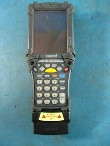 Symbol Mc9063 Mobile Computer Barcode Scanner Terminal With Adp9000 Used