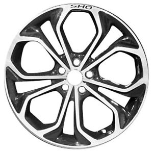 03926 Reconditioned 20x8 Alloy Wheel Rim Black Painted With Machined Face