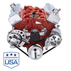 Chevy Small Block Serpentine Conversion Sbc Electric Water Pump 283 302 350 400