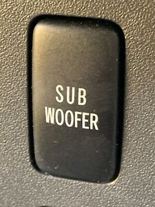 2007 2011 Toyota Fj Cruiser Sub Woofer Subwoofer Button Switch Factory Oem A1
