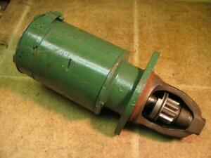 Oliver 77 Tractor Delco Remy Starter 1107939 66 77 88 6 Volt
