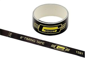 Mr Gasket 1591 Precision Timing Tape