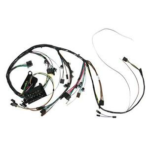M h Electric 10535 Dash Wiring Harness W gauges 1967 Chevelle