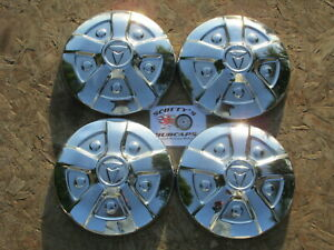 1971 83 Toyota Hilux poverty Dog Dish Hubcaps Set Of 4