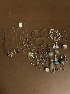 321 Grams Sterling Silver 925 Scrap And Wearable Lot