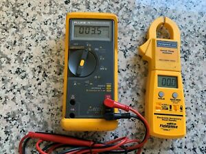 Fluke 76 True Rms Multimeter Fieldpiece Current Clamp Head Electronic Handle