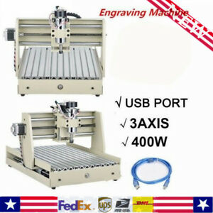 Usb 3 Axis 3040 Cnc Router Engraver Wood Metal 3d Drilling Mill Cutter Machine