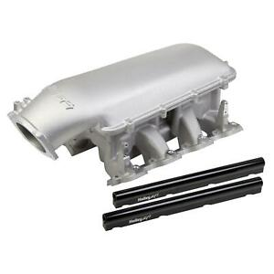 Holley 300 127 Mid Rise Intake Gm Ls1 Ls2 Ls6 W 105mm Top