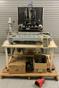 Madag Sigma 180 4 color Pad Printer With Racetrack Indexer Automation