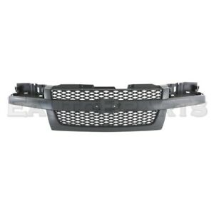 Fit For Chevrolet Colorado Front upper Grille Textured Performance