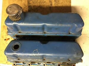 1970 S 351 Windsor Ford Small Block Cylinder Heads W Covers 5l28