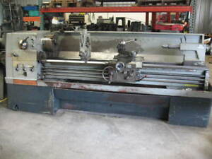 21 X 80 Clausing Colchester Lathe W steady Rest Aloris Misc Tooling vgc