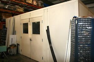 National Partitions Modular mezzanine Warehouse In plant Office 20 w X 32 L