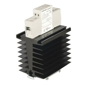 Tra48d60h Heat Sink Solid State Relay Din Rail 60a 42 480v Out 4 32vin Ssr Dc Ac