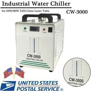 Cw3000 Industry Water Chiller For Co2 Laser Engraving Cutting Machine 110v Ups