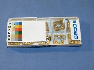 Brand New Seco Turning Carbide Inserts 10pcs lot Cnmg 432 mf3 tp45