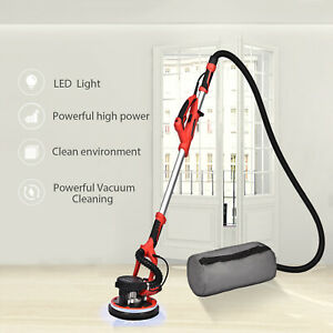 Elecwish Drywall Sander 750w Electric Variable 6 speed Sanding Pad W Led Strip