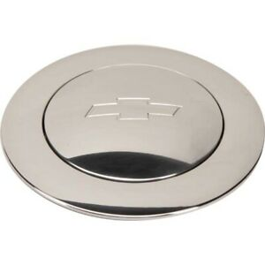 Billet Specialties 32325 Polished Horn Button Bowtie
