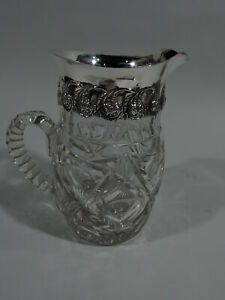 Adelphi Water Pitcher Antique Edwardian American Sterling Silver