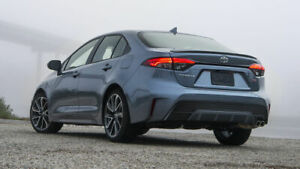 Painted Factory Look Rear Lip Spoiler For New Model 2020 Toyota Corolla No Drill