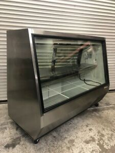 72 Deli Case Refrigerated Display Stainless True Tdbd 72 2 2011 Glass Meat Nsf