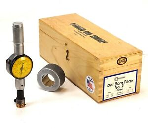 Standard Dorsey 241 Dial Bore Gage No 2 Set 1 1 17 32 0001 Master Ring