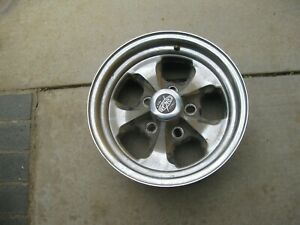 4 Vintage Cragar Street Pro 14 Wheel Rims 6 3 4 Wide 5 Lug On 4 75 Circle