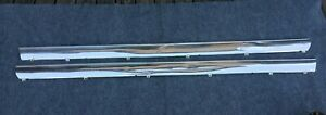 1965 Chevy Nova Rocker Trim Molding Both Sides Left And Right For 2 Door Coupe