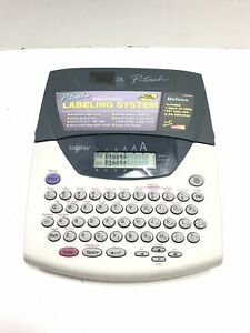 Brother P touch Pt 2200 2210 Label Name Tape Maker Multi Line Lcd Display
