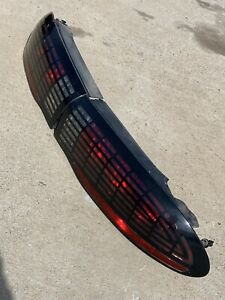 1993 2002 Firebird Formula Trans Am Ws6 Tail Light Lt1 Checkered Style Set Rare