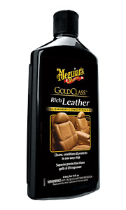 Meguiars G7214 Gold Class Leather Cleaner And Conditioner